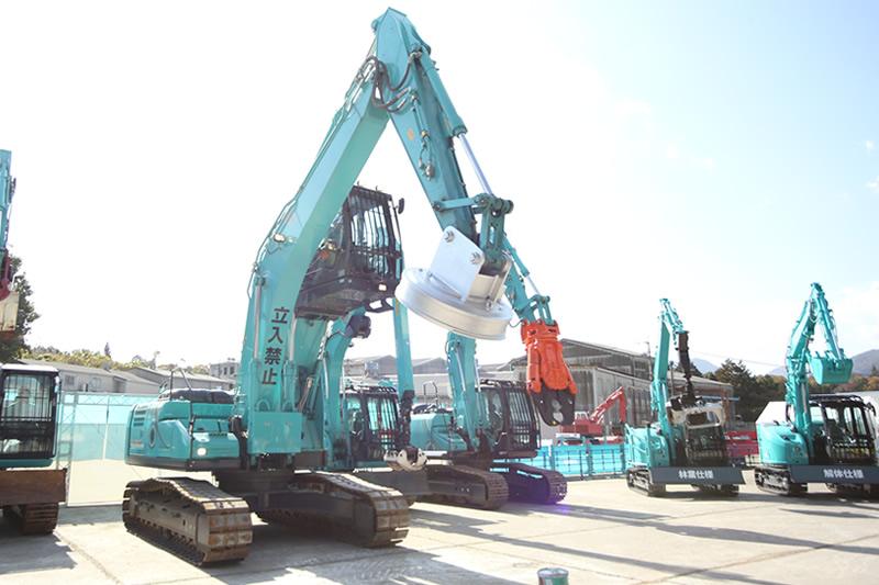 日商機材の建機販売・レンタル・リース